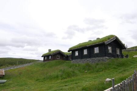 Storhytta på Vaspladsen Seter - Høvringen, Rondane