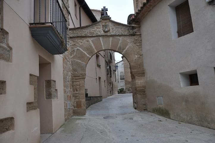 """Aparto Rural Tourism """"CASA Purroy"""" - El Grado - Apartament"""