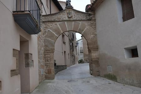 """Aparto Rural Tourism """"CASA Purroy"""" - El Grado - Flat"""