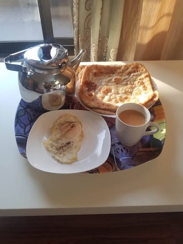 Delicious Cultural breakfast available for 120RS/- per person.