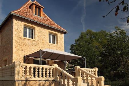 "Holiday Rental House ""La Petite Prairie"" - Saint-Geyrac - Casa"