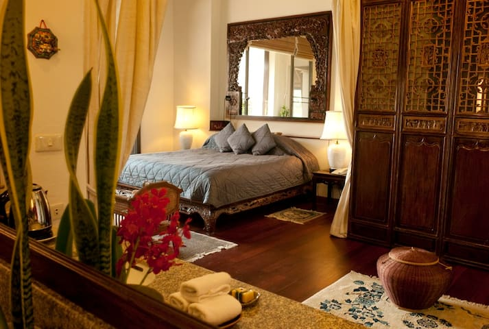 Chinese Suite at Lana Thai Villa - Chiang Mai - Bed & Breakfast
