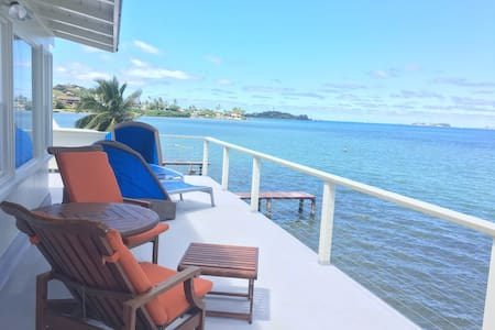 Just listed Ocean front relaxation. - Kaneohe - Ház
