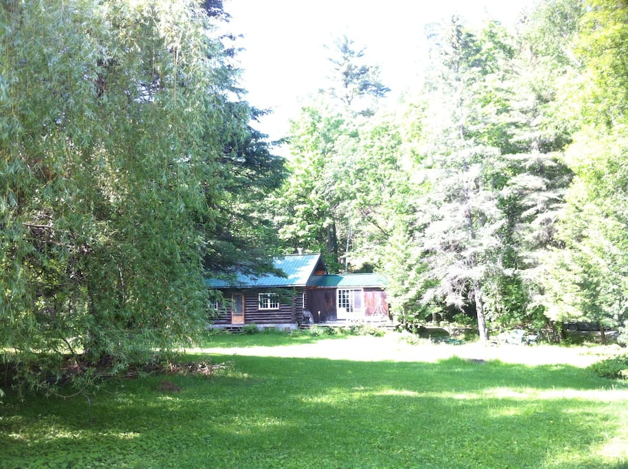 Beautiful Log Cabin In Wakefield Cabins For Rent In