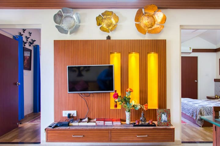 The Duchess Suite, Luxury 2 BHK at Arpora Goa - Arpora - Huoneisto