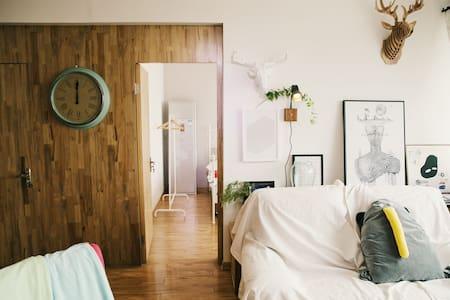 一宅·Room3-厦鼓码头旁10分钟达鼓浪屿设计师海景两房-宁静 - Xiamen