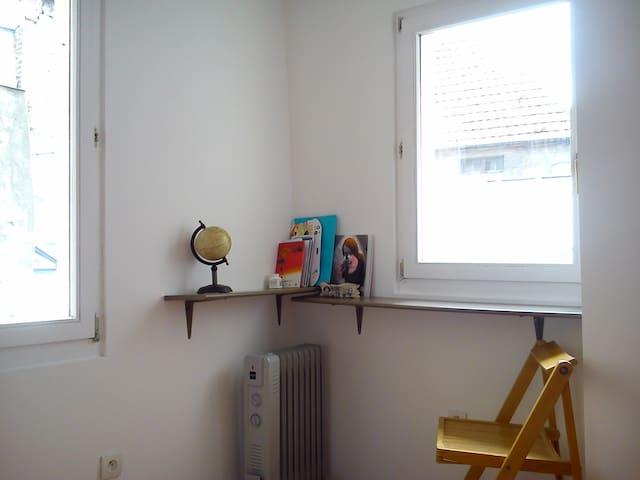 Chambre isolée dans quartier clame et central - Pontoise - Apartament