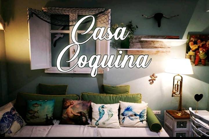 Casa Coquina. Vera Natura.  Primera linea de playa