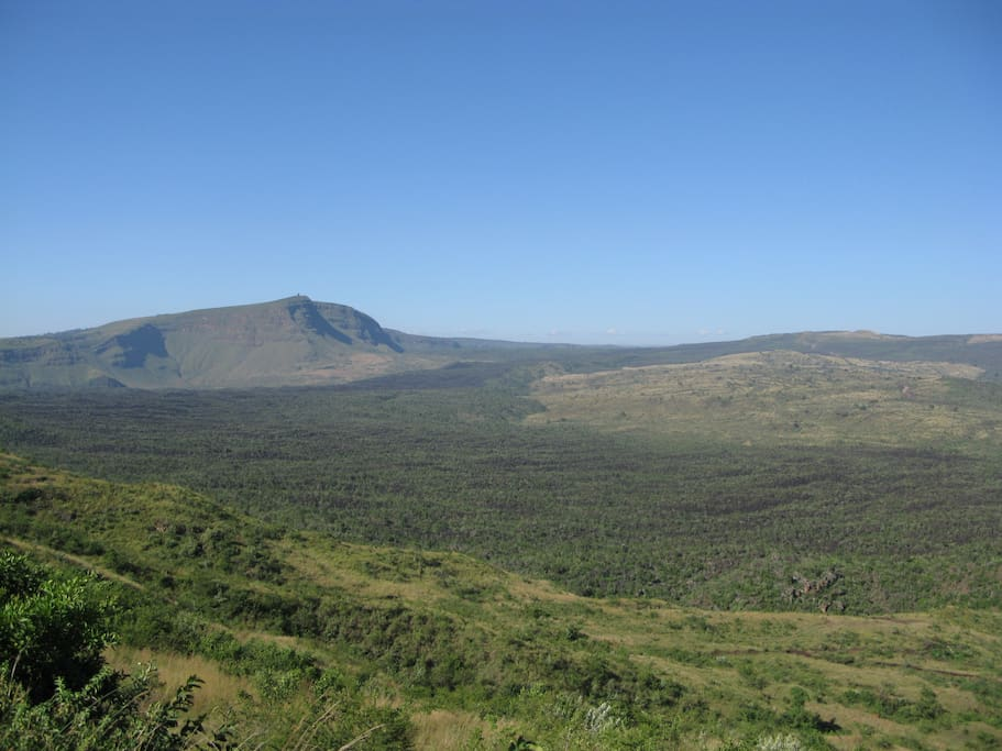 Breath taking view of Menengai Crater from the Home!