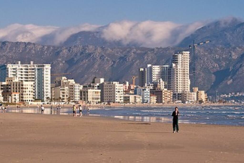 Strand Beach by day.