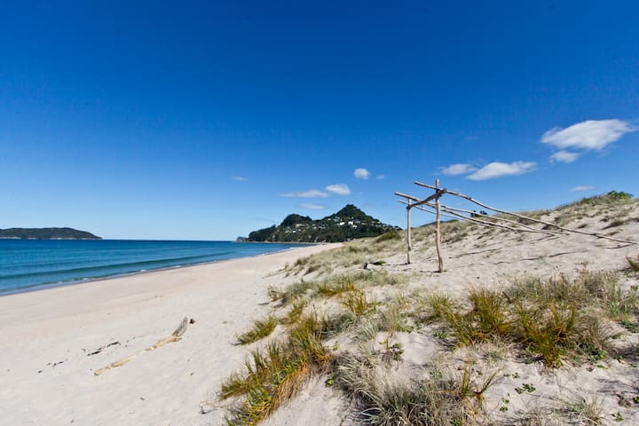 TAIRUA BEACH FRONT! 2 bed apartment - Tairua - Flat
