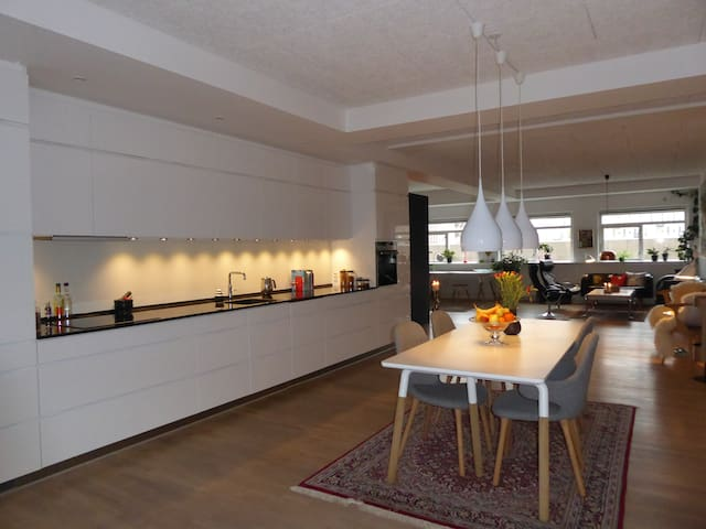 New Yorker lejlighed på 135kvm  - Copenhagen - Apartment