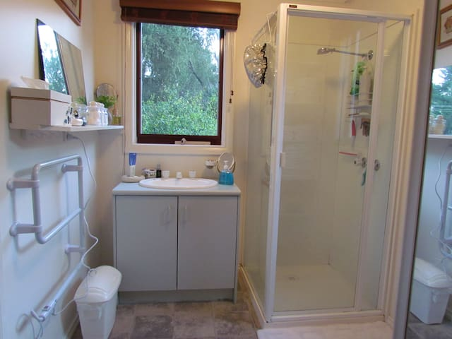 Clean, bright and airy bathroom