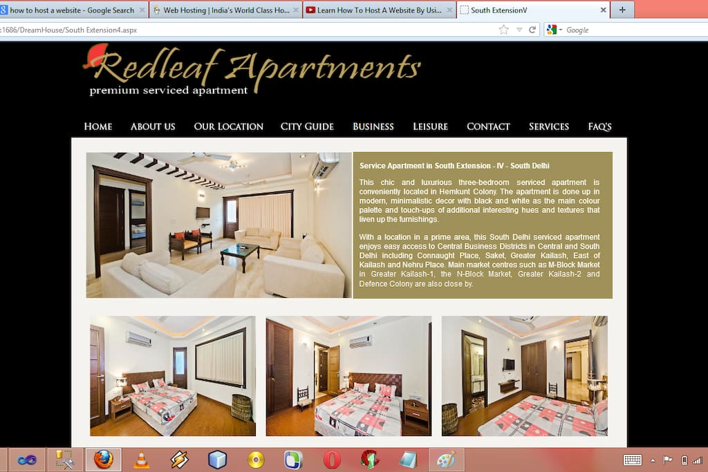 WE ARE REDLEAF SERVICED APARTMENTS !!!