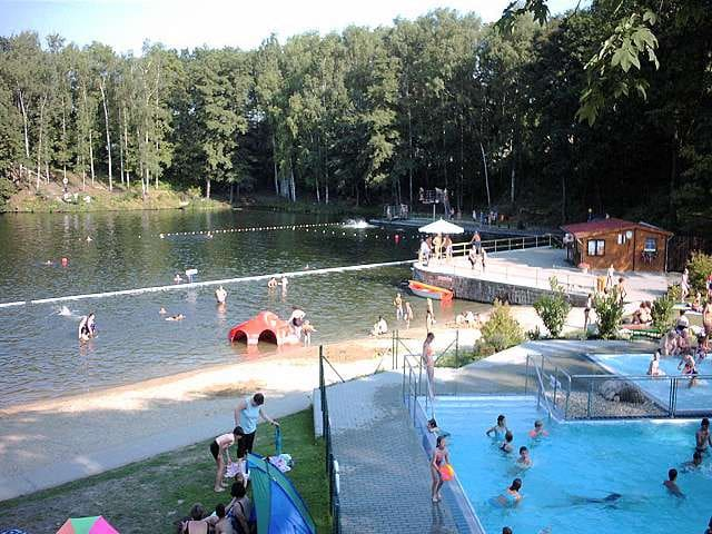 The near the lake and swimming pool - Frohburg