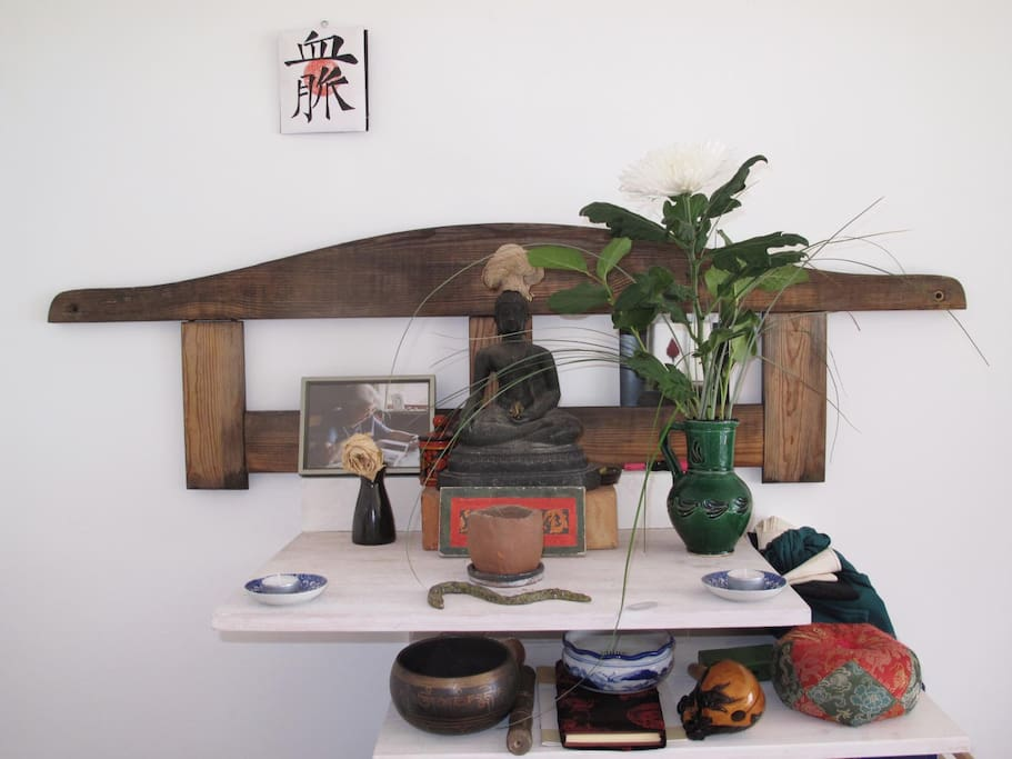 LIttle Buddha shrine