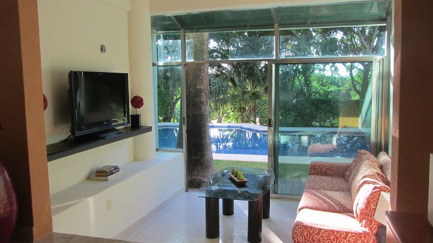 Private Studio in the Mayan Riviera - Puerto Aventuras - Daire