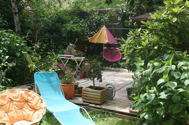 joli T2 rez de jardin - Lasalle - อพาร์ทเมนท์