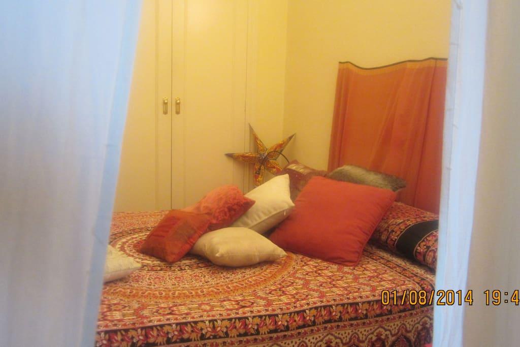 Esta es la habitación que te ofrezco en mi hogar....