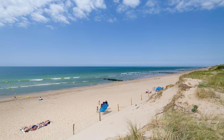 Appartement de vacances en bord de plage