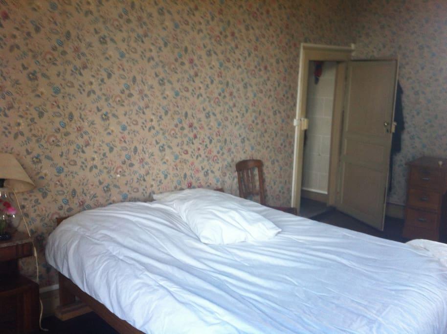 une des chambres...