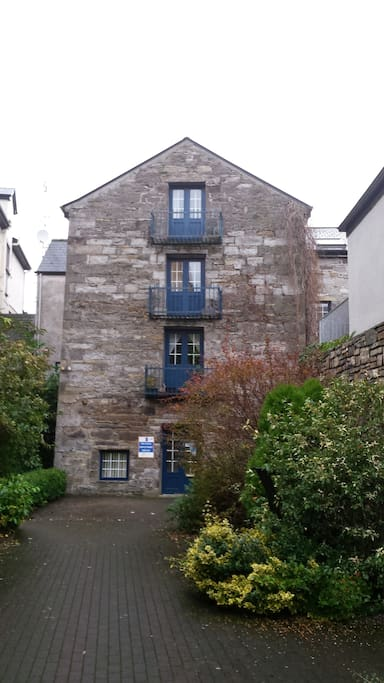 exterior of apartment. The old Mill