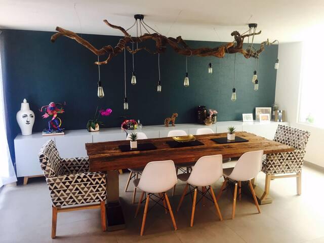 Beautiful room near Lomas-Virreyes & Reforma. - Ciudad de México - House