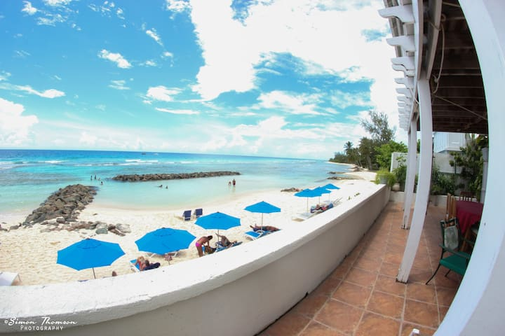 Barbados Beachfront 1 bedroom apartment