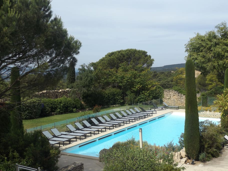 Bastidon de charme r sidence avec piscine for Camping alpes de hautes provence avec piscine