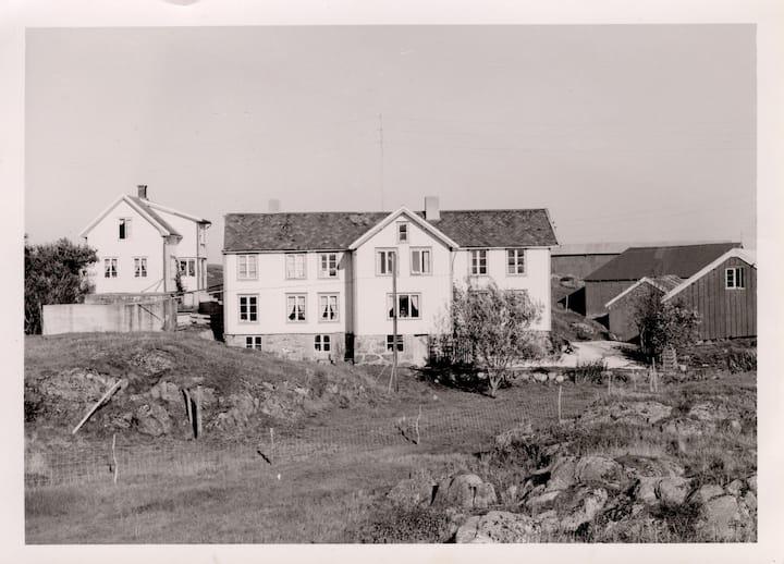 The old farmhouse of Rangøy Island