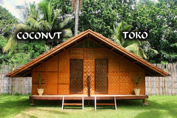 """ARCHERY-ASIA Nipa Hut """"Toko"""" in Moalboal"""