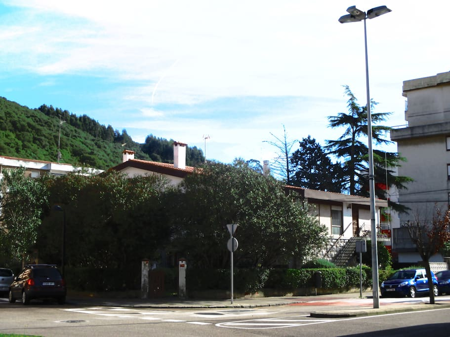 Cerca del Monte Buciero.