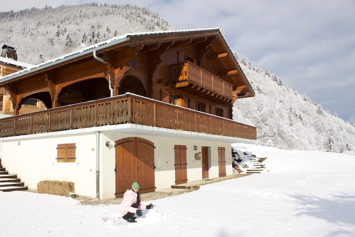 Chalet Noel, Morzine, St Jean D'Aulps, with Sauna