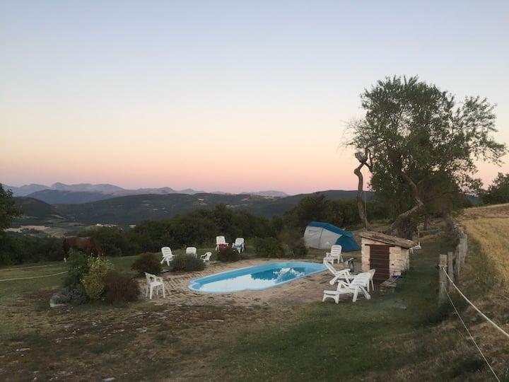 Green Camp sui monti Sibillini