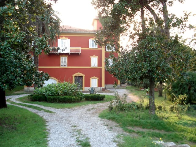 """Wonderful """"old  villa"""" with tower"""
