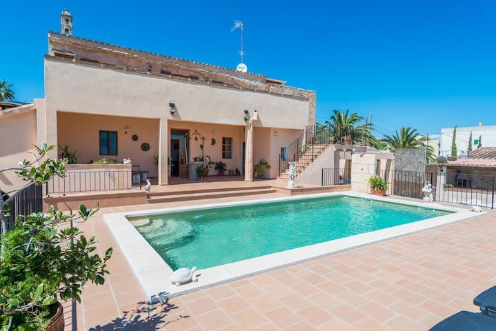 Natural stone villa with pool - Villa Can Trobat