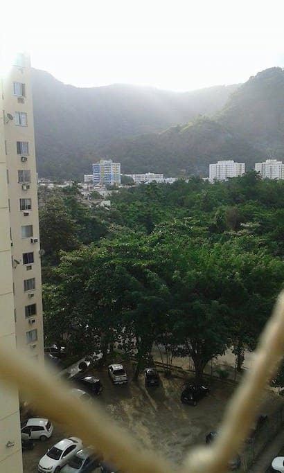 Vista da janela!
