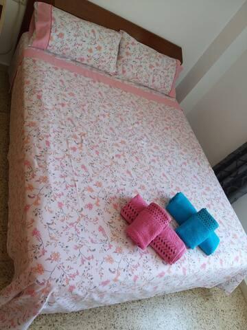 Habitación matrimonio confortable 3