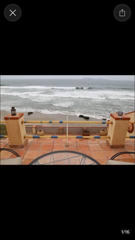 Beach front villa near Rosarito - San Antonio del Mar - Ev