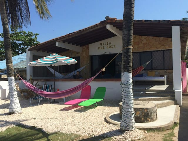 Rest in front of the Caribbean Sea - Coveñas  - House