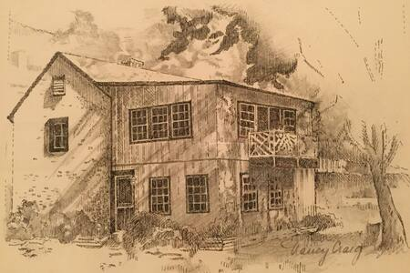 Kitchen Cottage @ Anderson Cottage - Warm Springs - Dom
