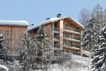 Ski Apt Les Arcs/La Plagne- Montchavin Paradiski - Bellentre - アパート