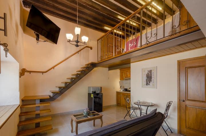 Hermoso y cómodo Loft Studio en el centro