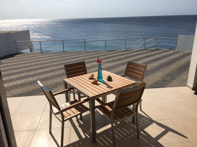 Romantic apartment A on the ocean. - Willemstad - Apartment