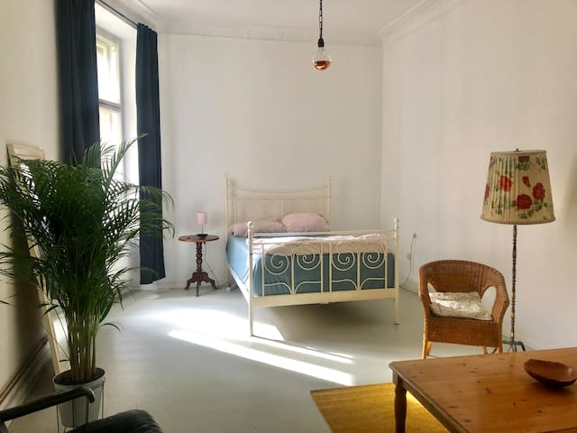 Lovely & cozy room in the heart of Kreuzberg 26qm
