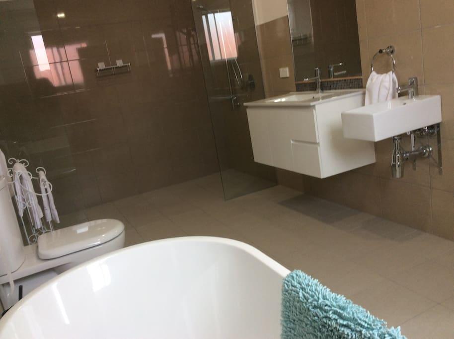 Bathroom/ Double Shower / Bath