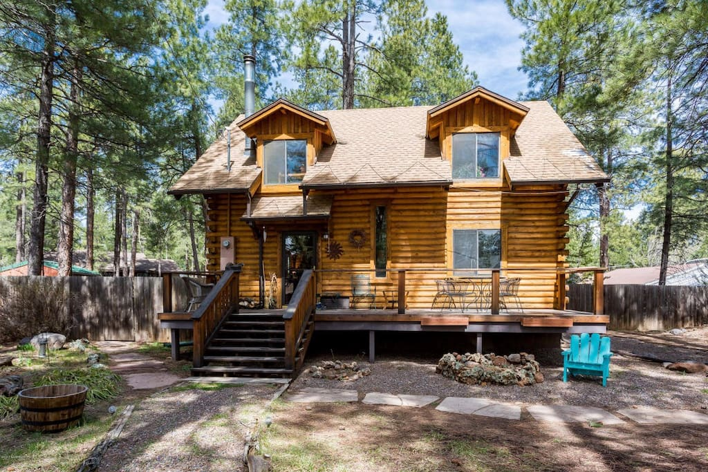 white flagstaff rent northern mountains vacation in ski for rentals cabins arizona the