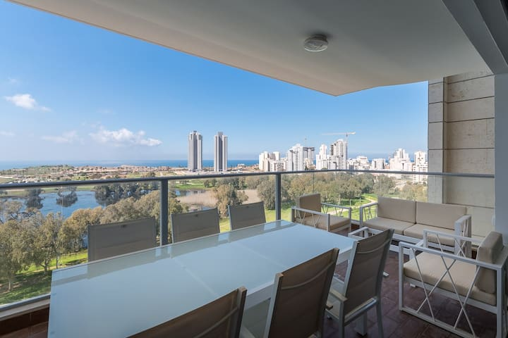 Magical Apartment with Sea view - Netanya - Apartment
