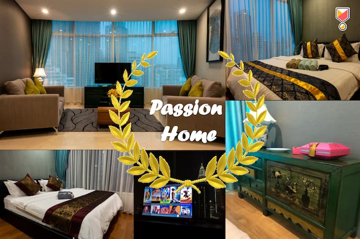 PASSION #3: NEW! 8Beds KLCC VIEW CHINESE VINTAGE