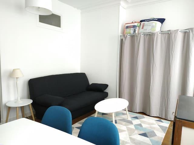 Studio agréable dans le centre ville de Compiègne